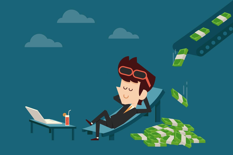 Bagaimana Cara Kerja Internet Menghasilkan Uang / Passive Income