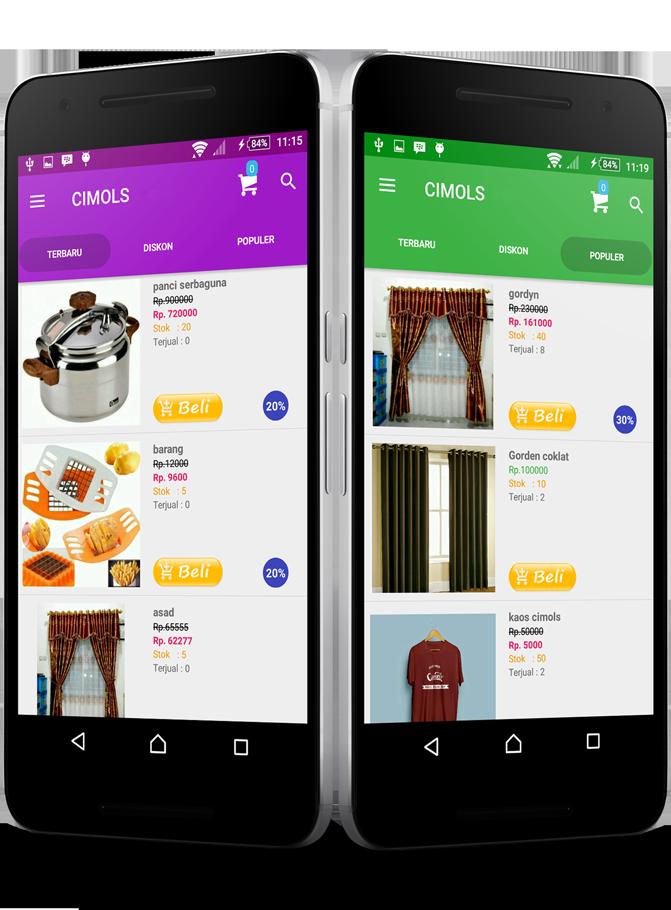 Aplikasi Toko Online Android Profesional Untuk Jualan Anda