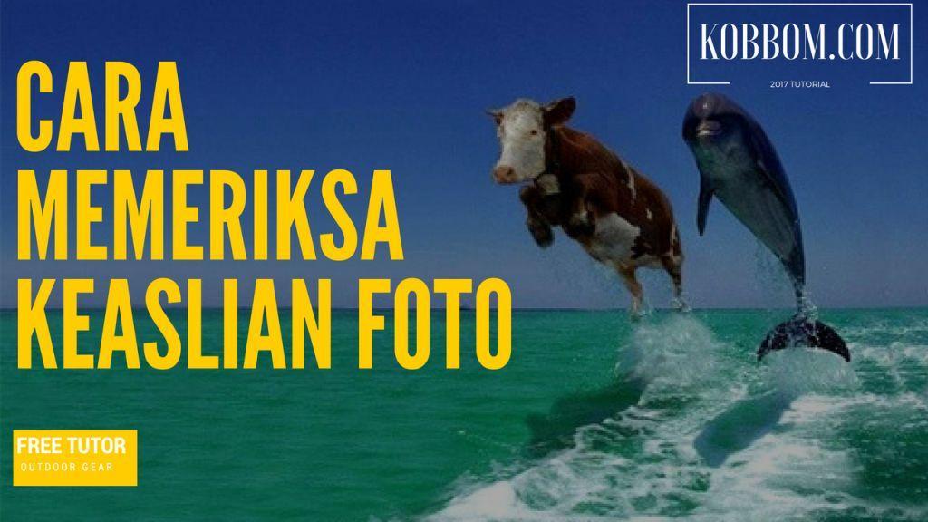 Cara Memeriksa Keaslian Foto/Artikel di Internet | Berantas Berita Hoax