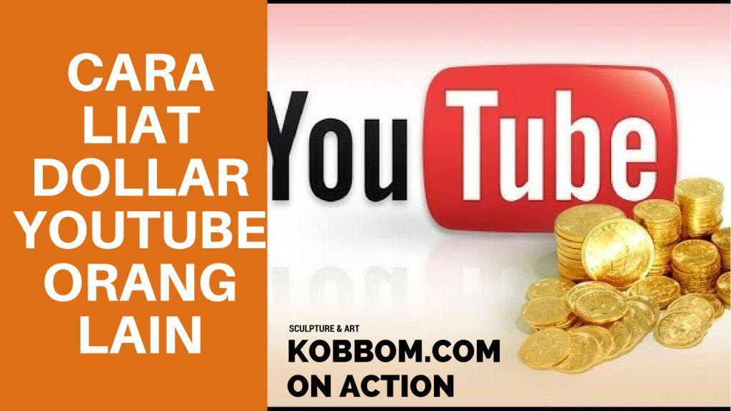Cara Mudah Melihat Penghasilan Youtube Channel Lain