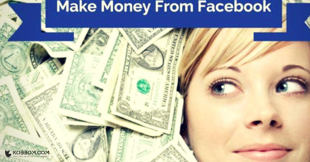 Dollar Pertama Dari Facebook. Facebook Bagi-Bagi Rezeki Juga