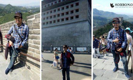Pengalaman Pertama Wisata Menuju Tembok Besar China di Beijing