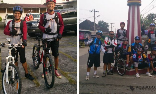 Day 2, Touring Gowes to Sumbar With HalBic (Halliburton Bicycle Duri). Mengitari Kota Bukit Tinggi