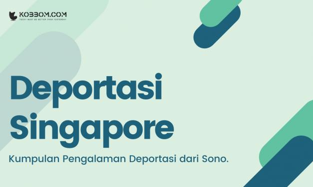 4 Daftar Pengalaman Warga Negara Indonesia yang di Deportasi dari Singapore