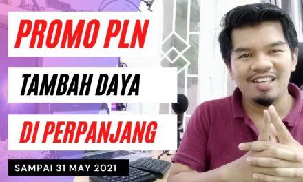 Promo Tambah Daya PLN Melalui Alfamart dan Tokopedia Di Perpanjang Sampai 31 May 2021