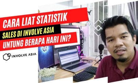 Cara Melihat Statistik Hasil Produk yang sudah Kita Promosikan, Untung Berapa hari ini ya ?