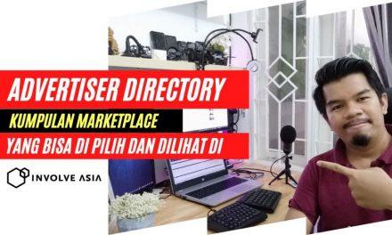 Menu Advertiser Directory – Apa itu ? dan bagaimana penjelasan lengkap nya ?