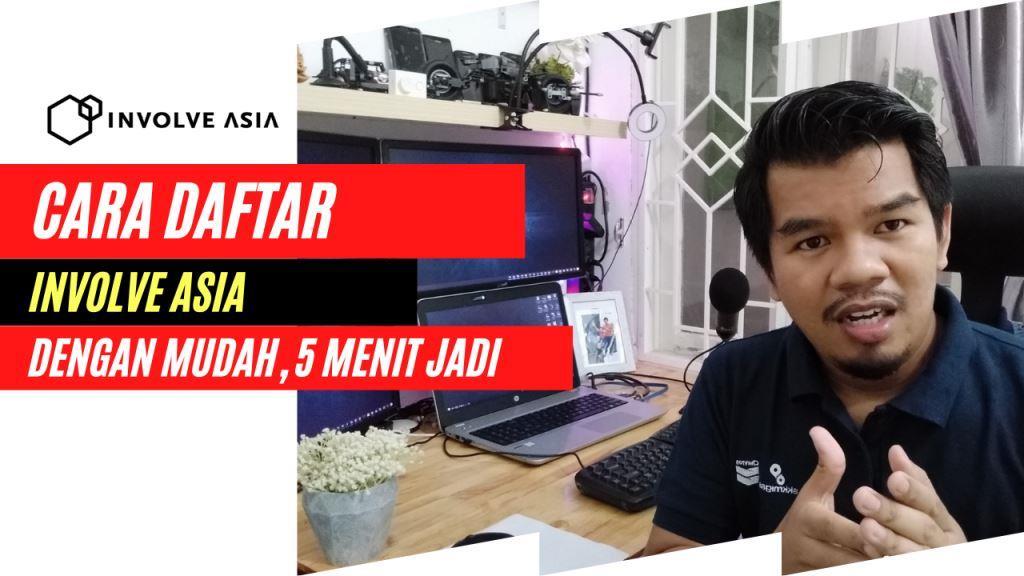 Step By Step Mendaftar di Involve Asia, 3 Menit Langsung Jadi